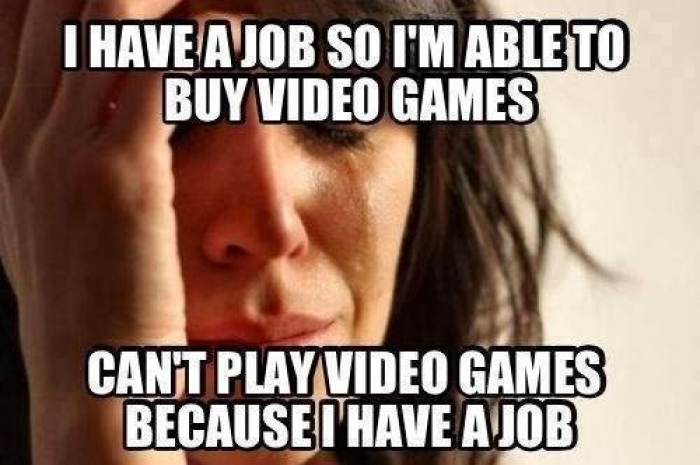 I Don't Feel Like Playing Video Games