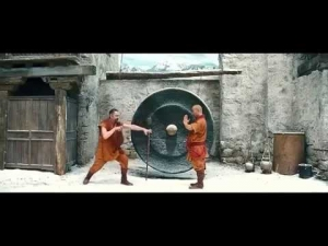 Funny Kung Fu Fight scene with Mr Bean