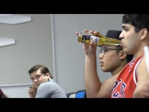 Drinking Beer in Lecture Class