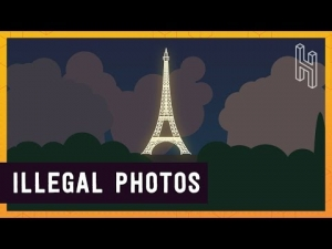 Taking Photos of the Eiffel Tower at Night are Illegal!