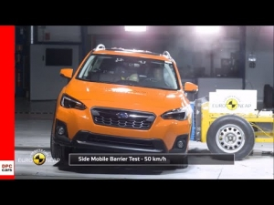 Crash Test & Rating of the 2018 Subaru XV