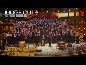 Angel City Chorale Earns Golden Buzzer From Olivia Munn in #AGT2018