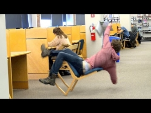 Falling Out of Chairs!