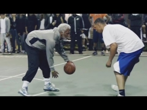 Stars NBA dressed in the old People in the game + bonus (HD) :D