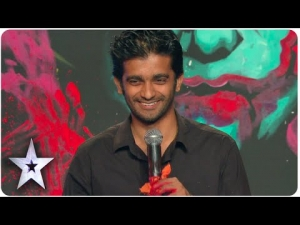 Vilas Nayak Paints Giant Joker Portrait In 2.5 Minutes | Asia's Got Talent