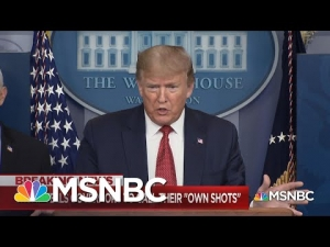 Trump Again Takes Credit For Coronavirus Successes While Shifting Blame For His Failures | MSNBC
