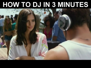 Learning how to DJ in 3 minutes