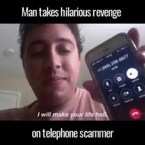 This is how to deal with telephone scammers
