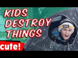 Kids Destroy Things | Funniest Fails Compilation
